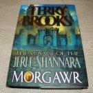 MORGAWR Terry Brooks HC DJ 1ST ED 1ST PRINT