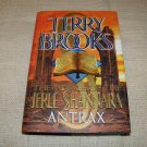 ANTRAX VOYAGE OF THE JERLE SHANNARA Terry Brooks HC DJ 1ST ED 1ST PRINT