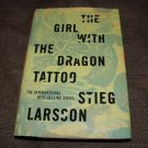 GIRL WITH THE DRAGON TATOO Stieg Larsson First US edition 1st print HBDJ