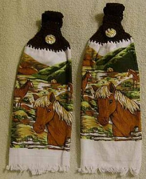 Kitchen Towel For The Horse Lover FREE SHIPPING