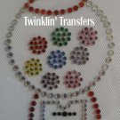Rhinestone Iron On Transfer BUBBLE GUMBALL MACHINE
