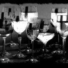 Rhinestone Transfer Hot Fix Iron On WINE GLASS THERAPY