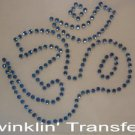 Rhinestone Transfer Hot Fix Iron On OHM YOGA