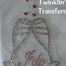 Rhinestone Transfer Hot Fix Iron On WEDDING I DO TOAST