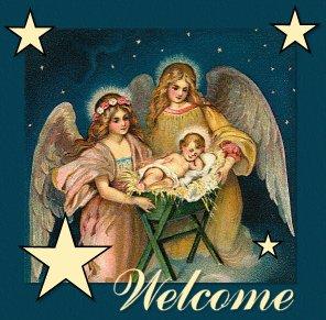 Rhinestone Transfer Iron On CHRISTMAS ANGEL