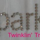 Rhinestone Transfer Hot Fix Iron On I SPARKLE BLING