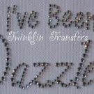 Rhinestone Transfer Iron On TWILIGHT EDWARD DAZZLED