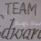 Rhinestone Transfer Iron On TWILIGHT TEAM EDWARD CULLEN