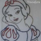 Rhinestone Transfer Iron On SNOW WHITE DISNEY PRINCESS