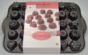 Tea Cakes and Candy Mold Pan Bundt