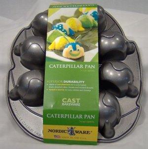 Cupcake Pan Caterpillar Cast Cake Mold