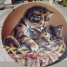 1993 CODY & COURTNEY Baskets Of Love Plate MINT