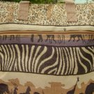 SAFARI TAPESTRY TOTE HANDBAG PURSE NEW
