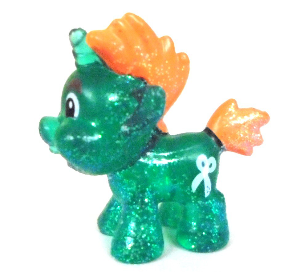 Snipsy Snap Crystal Glitter MLP My Little Pony Unicorn Toy Collectible Figure
