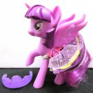 Twilight Sparkle My Little Pony Full Size MLP Pegasus Unicorn Figure Toy Real Hair