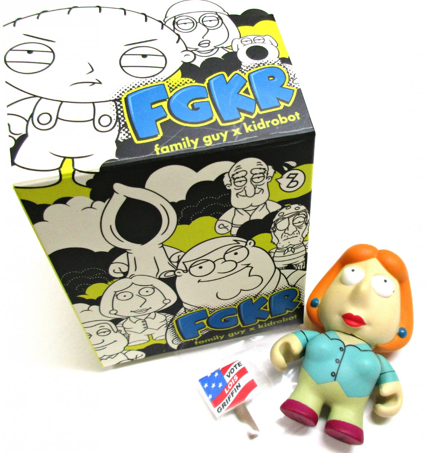 Family Guy Lois Griffin Vinyl Figure Collectible Blind Box by Kidrobot