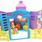 Polly Pocket Horse Barn Stable Farm Corral House Play Set Fence, Furniture, Doll