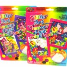 2 Lisa Frank Fairy & Rainbow Popcorn Glitter By Number Framed Art Craft Kits Puppy Dog Kitten Cat