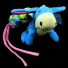 Disney Baby Pooh Bear Pals Eeyore Plush Toy Hanging Crib Rattle Cuddle Buddy