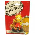 Lisa Simpson Cartoon Figure Collectible Saxophone Music The Simpson's