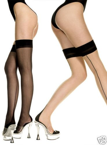 Sexy Cuban Heel Stockings 2 Styles to choose from o/s