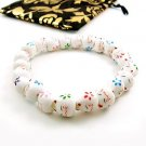 A0007 -Japan Genuine Lok Tong Lucky Cat Head A cat colorful candy bracelet DIY  Bracelet