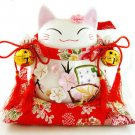 A0026 - Japanese Lucky Cat Genuine  Piggy Bank/ Gift