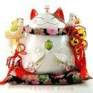 A0054 - Japanese Lucky Cat Genuine Lok Tong Kim Yun-Wanbao hammer  (Extra large)