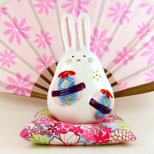 A0088 - Japan Genuine Tao Yue Tang ceramic dye � � � � Rabbit