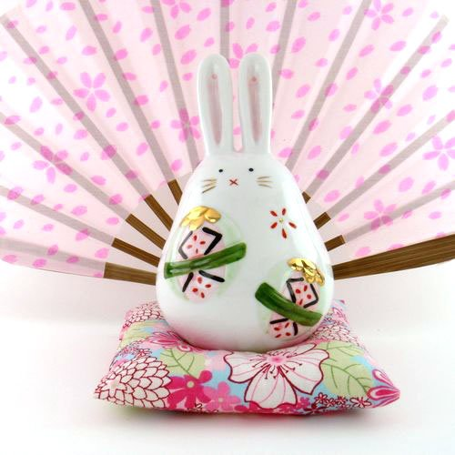 A0094 - Japan Genuine Tao Yue Tang ceramic dye � � � � Rabbit