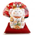 A0096 Japan's Genuine kiln Pharmacist Jin Shan Fu Cat Lucky Cat
