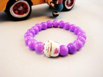 A0116-Japan Genuine Tao Yue Tong Bracelet (Purple)
