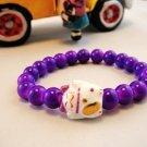A0117-Japan Genuine Tao Yue Tong Bracelet (Purple)