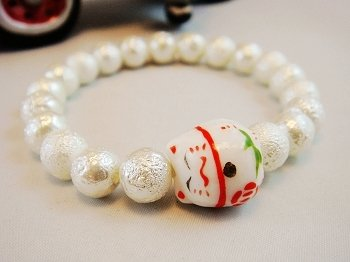 A0132 - Japanese Genuine Pearl wrinkles (White)