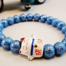 A0137-Japanese Genuine Pearl wrinkles (Blue)