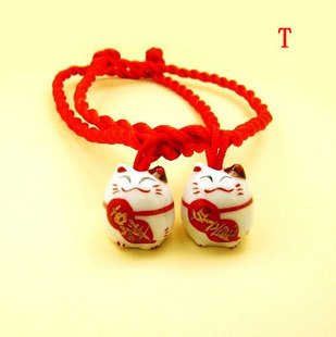 A0160-Japanese Lucky Cat  Bracelet