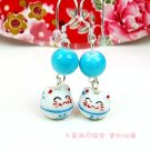 A0175100%  Good Quality Lucky Cat Earrings