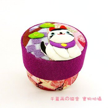 A0203 - Japan Fabric jewelry box / packaging box