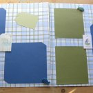 Little One (little boy) 2 12 x 12 Premade Scrapbook Pages