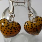 I HEART Cheetahs Earrings