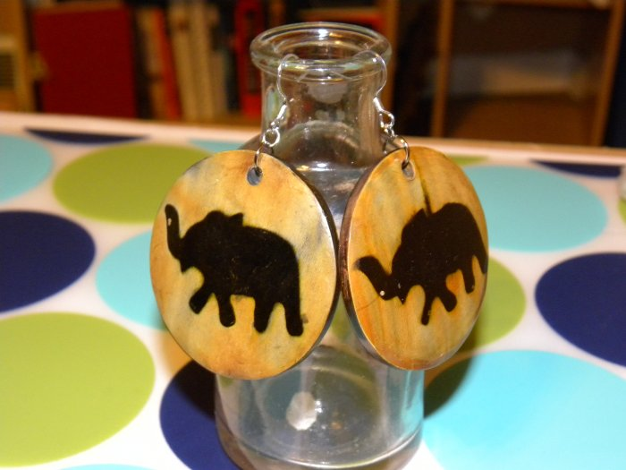 Lucky Little Elephant Earrings