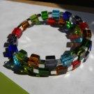 Colorful Cubes Bracelet