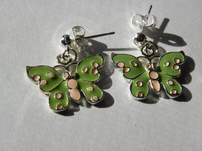 Fly Away Butterfly Earrings