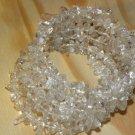 Harmony Clear Quartz Gemstone Chip Bracelet