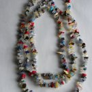 Confetti Gemstone Chip Necklace