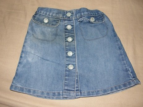 Old navy toddlers denim skirt