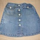 Old navy toddlers denim skirt