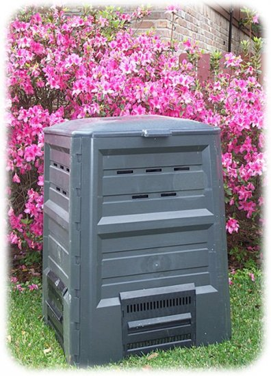 NEW! 170 GALLON Black COMPOSTER Ventilated FREE SHIP