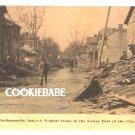 Vtg 1913 INDIANAPOLIS, IN FLOOD Disaster Postcard L154
