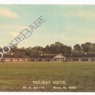 Vtg BEREA, KY *Holiday Motel* OLD Retro Postcard F76